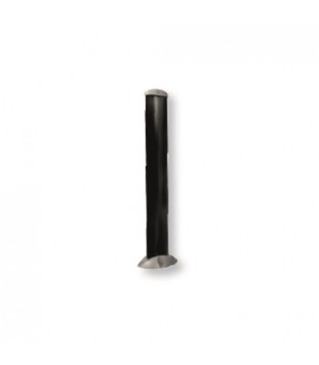 NGO529 - SUPPORT POST - Pair 500mm H in Anodized Aluminium for Gate Operators
