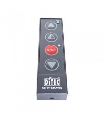 HSD113D - Push Button - 4 Button Station with 4 Key Membrane (Partial Open-Open-Stop-Close), IP40 Rated