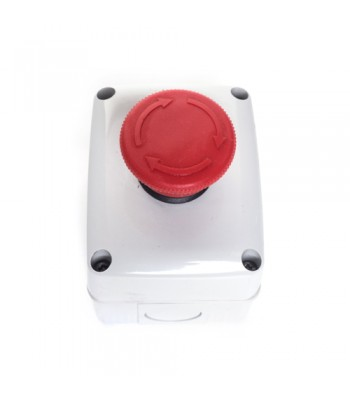 HSD113E - Push Button - Mushroom Head, IP65 Rated
