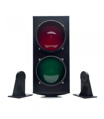 HSD118 - 230v Signal Light With Control Board, Red & Green