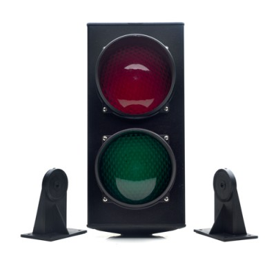 HSD118 - 230v Signal Light With Control Board, Red & Green (Brand: Ditec)