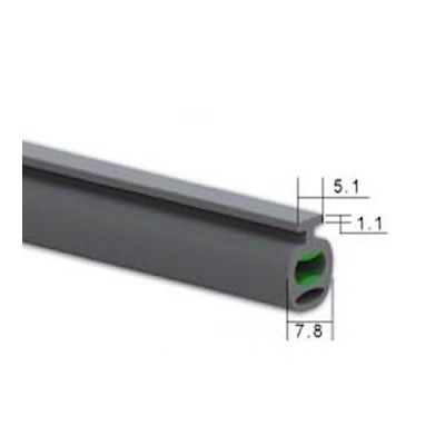 NE110 - Safety Edge Rubber for 55mm Lath (Brand: North Valley Metal)