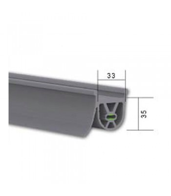 NE130 - Safety Edge Rubber for Industrial Roller Shutters (For Sectional Doors) Use with NE730