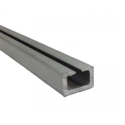 NE700 - Aluminium Track for NE400 Plain Rubber Edge (Brand: North Valley Metal)