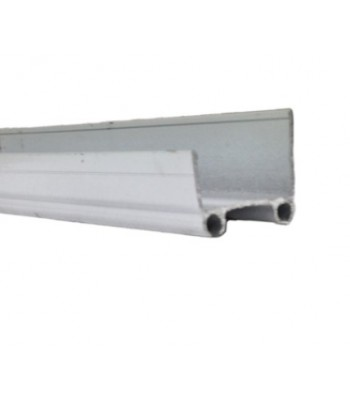 NE730 - Aluminium Track 40mm for NE130 Safety Edge (for Sectional Doors)