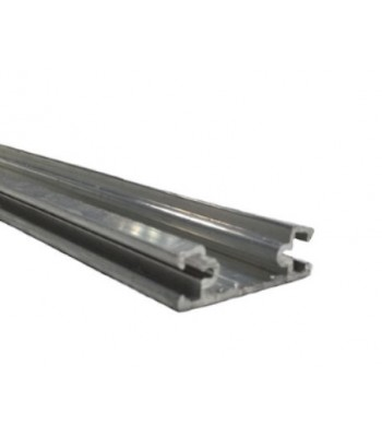 NE720 - Aluminium Track with Screwports, 36mm for NE120 Safety Edge