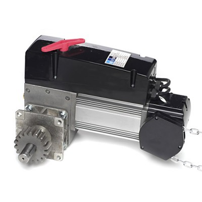 NDF315 - NVM Flange Motor with Adaptor - 3 Phase 415v 150nm, with Built-on Starter and 3 Button Station (Brand: NVM Motors)