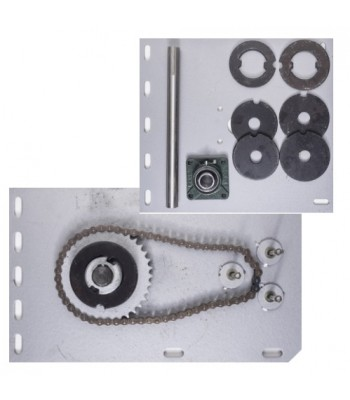 NF5004 - Flange Motor Bracket Pack for 500kg Motor & Shutters up to 6000mm H