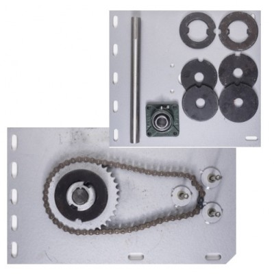 NF5004 - Flange Motor Bracket Pack for 500kg Motor & Shutters up to 6000mm H (Brand: NVM Motors)