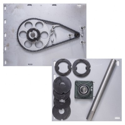NF8004 - Flange Motor Bracket Pack for 800kg Motor & Shutters up to 6000mm H (Brand: NVM Motors)