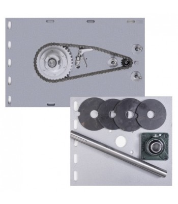 NF8006 - Flange Motor Bracket Pack for 800kg Motor & Shutters up to 8000mm H