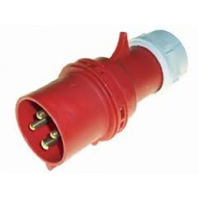 NF0041 - 3 Phase Screwless Plug (Brand: NVM Motors)