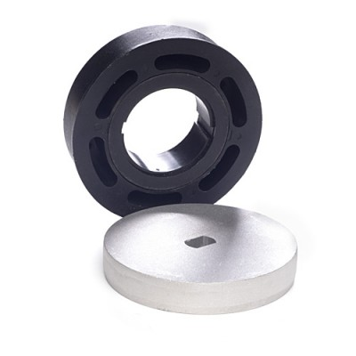 "NT4594* - Crown & Adaptor - 94mm Ø for 101.6mm Tube 4""x 9swg to suit 45mm Motors (Brand: NVM Motors)"