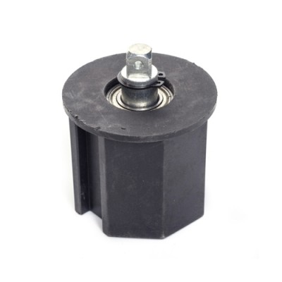 NT500* - Octagonal Idler with Fixed Shaft (Brand: North Valley Metal)