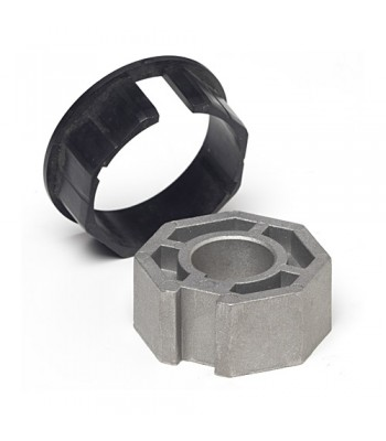 NT5970* - Crown & Adaptor - 67mm for Octagonal Tube 70mm x 1.5mm Wall to suit 59mm Motors