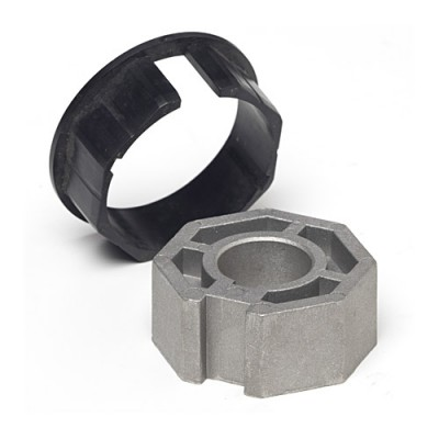 NT5970* - Crown & Adaptor - 67mm for Octagonal Tube 70mm x 1.5mm Wall to suit 59mm Motors (Brand: NVM Motors)