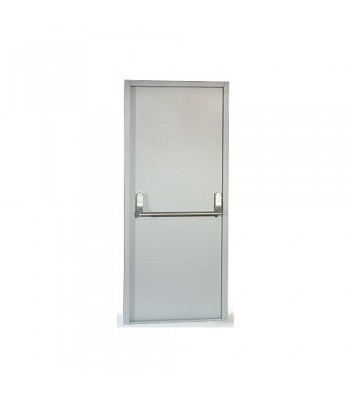 DFS3 - Fire Exit Door - Series 3  - Grey Primer Finish - Pre-Drilled for Panic Furniture