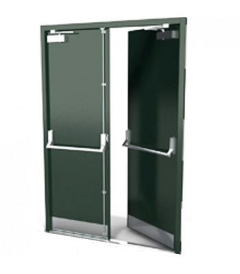 DFS100 - Bespoke Steel Fire Exit Door Sets - Made to Measure