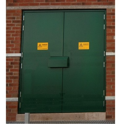 DPS104 - Bespoke Fire Rated Steel Personnel Door Sets - Certified BS 476 - Made to Measure