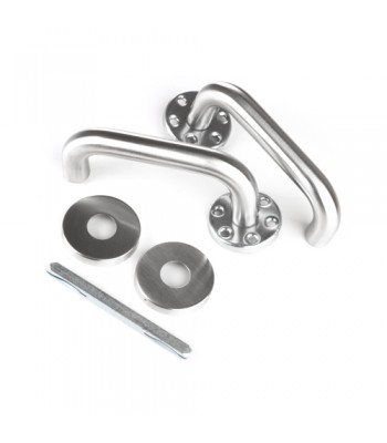 DHH002 - Stainless Steel Handle Set - Pair - To suit DPS 3 Series Personnel Doors