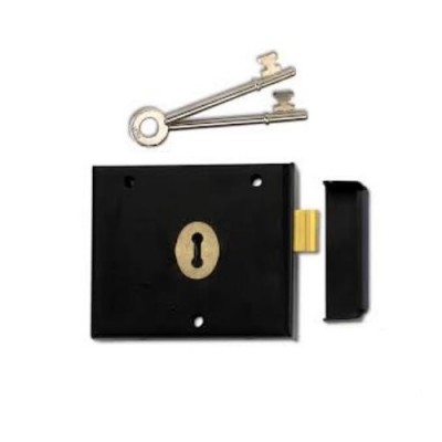 DHL011 - Marston FB2 Deadlock & Keys (Brand: NVM Steel Door Sets)