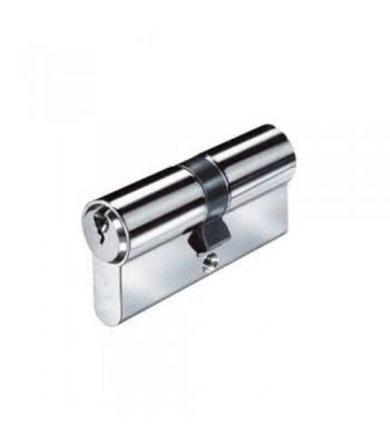 DHL020 - Double Euro Cylinder - Keyed Both Sides - Chrome Plated