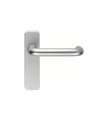 DHL026 - Lever Handles - Aluminuim - Brushed Silver Finish  Keyed or Plain