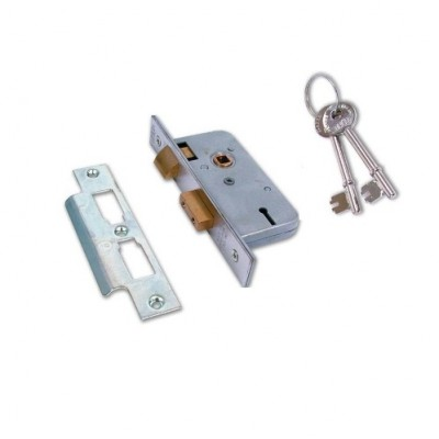 DHL027 - Sash Lock - 3 Lever with Keys (Brand: NVM Steel Door Sets )