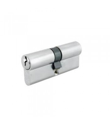 DHL033 - Euro Cylinder -  Keyed Both Sides Nickel Finish