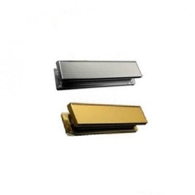 DHL038 - LetterBox - Complete Unit Sleeved - Silver or Gold (Brand: NVM Steel Door Sets)