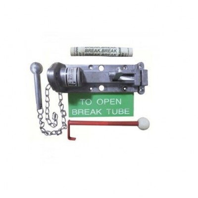 DHL039 - Redlam Mk 2 Fire Bolt - With Hammer & Chain (Brand: NVM Steel Door Sets )