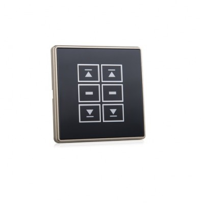 NT1122 - Remote Control Receiver / Switch Combination with Double Up/Stop/Down Function & Touch Screen (Brand: North Valley Metal)