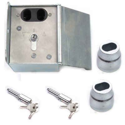 NV237A - Isolator Box with Key Switch (Brand: North Valley Metal)